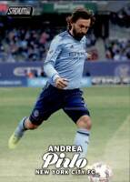 2017 Topps Stadium Club MLS Base #11 Andrea Pirlo New York City FC