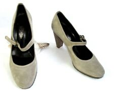 NDC - Roadie heels 8.5 leather suede light brown 38 - VERY GOOD CONDITION & BOX
