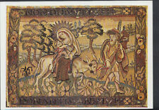 Museum Postcard - Tapestry-Woven Panel - The Flight Into Egypt   RR2583