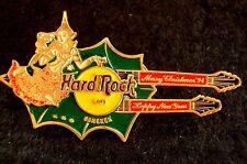 HRC HARD ROCK CAFE Bangkok Christmas 1994 double neck guitar le800