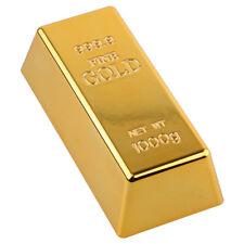 Goldbarren Türstopper Briefbeschwerer Simulation Ziegel Fake Gold Bar Decor