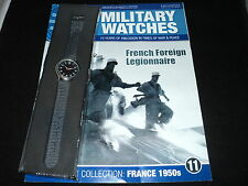 Eaglemoss Military Watches - Issue 11 - French Foreign Legionnaire Watch 1950s.