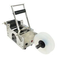 SEMI-AUTOMATIC ROUND BOTTLE LABELING MACHINE LABELER MACHINE LT-50S HIGH QUALITY