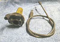 Suzuki RM80 RM125 RM85 Throttle assemly 57100-20411 AHRMA VINTAGE MX Two Stroke