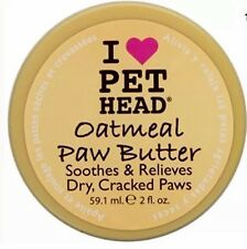 PET HEAD Oatmeal Paw Butter ~ Soothes & Relieves Dry, Cracked Paws ~ 59.1 ml