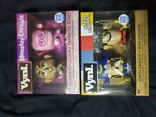 Funko Vnyl Count Chocula & Franken Berry 2-Pack and Cap'n Crunch & Jean Lafoote