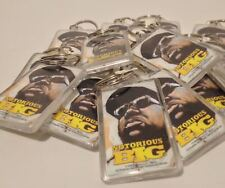 Notorious B.I.G. Key Chains Gangsta Rap Hip Hop Rare Collectible Keychain