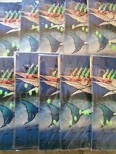 10 Pk Bait Jigs RO8 Hook Size 4# Glow / Flasher 6 Hooks Fishing Sabiki Bait jig
