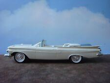 SMP 1959 Cream/Blue Chevrolet Impala Convertible Promo Car w/Friction Motor