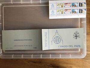 Vatican MNH booklet : 1985   I Viaggi booklet