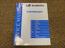 2006 Subaru Impreza Section 6 Chassis Suspension Shop Service Repair Manual Book