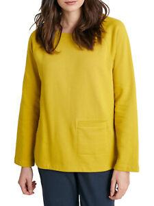 EX SEASALT Lime Dune Coastal Trail Sweatshirt Sizes 10 12 14 16 18 20 RRP £45