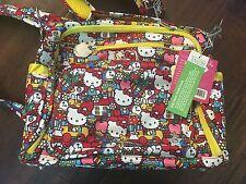 Ju Ju Be Ju-Ju-Be Hello Kitty BFF B.F.F. Diaper bag & changing pad Tick Tock