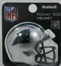 NFL American Football  CAROLINA PANTHERS Riddell SPEED Pocket Pro Helmet