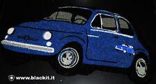 """Zerbino """"VECCHIA 500"""" colore BLU"""