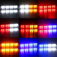8X 2 LED Car Truck Warning Strobe Flashing Light Bar Remote Wireless Control