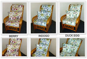 NEW FUNCHAL CUSHION COVERS FOR CANE RATTAN WICKER CONSERVATORY GARDEN FURNITURE
