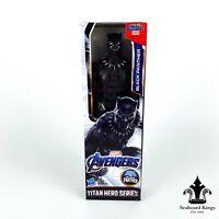 BLACK PANTHER Marvel Avengers Titan Hero Series 12 Inch Hasbro Action Figure New