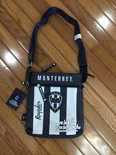 NWT Rayados Monterrey Soccer Cross Body / Organizer Messenger Bag Faux Leather