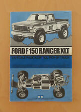 RC Tamiya Manual Ford F150 Ranger XLT 58027 USED 1981
