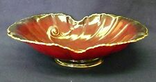 ART DECO CARLTON WARE ROUGE ROYALE CENTER PIECE BOWL