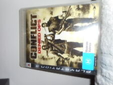 CONFLICT DENIED PLAY STATION 3 GAME