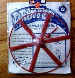 """Vtg SATELLITE Space Station No. 1 TOY ORBITER Premiere Prod NY Made USA  14"""""""