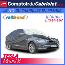 Housse Tesla Model X - SoftBond® : Bâche de protection mixte