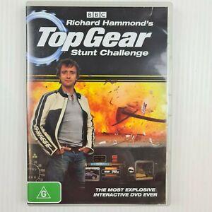 Richard Hammond's Top Gear Stunt Challenge DVD - Region 4 - TRACKED POST