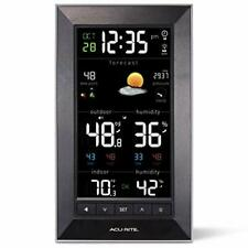 AcuRite Vertical Color Weather Station with 24 Hour Future Forecast 01121M