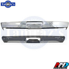 70-71 Plymouth Duster Front & Rear Bumper Kit AMD New Without Jack Slots