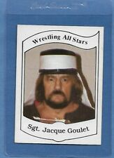SGT. JACQUE GOULET 1983 Wrestling All Stars Series A Trading Card #4