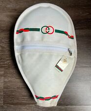 Gucci Tennis Racket Cover Rare Vintage Gucci Novelty