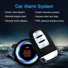 Universal Auto Car Alarm Remote Engine Start Stop Button Open Close Windows