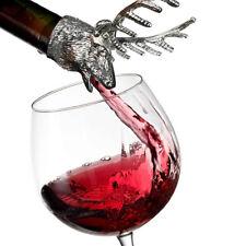 Elk Stainless Steel Liquor Wine Bottle Pour Flow Pourer Spout Stopper Stopper