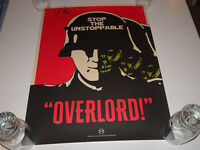 JOVAN ADEPO SIGNED AUTOGRAPHED OVERLORD MONDO POSTER PRINT 18X24 JAY SHAW RARE