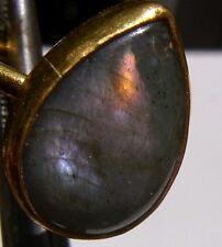 CeS Solitär Ring mit opal. Labradorit