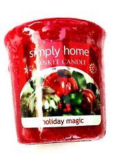 Yankee Candle Votive Sampler Candles - Various Fragrances Holiday Magic
