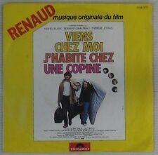 Viens Chez Moi... 45 tours Renaud Michel Blanc Bernard Giraudeau 1980