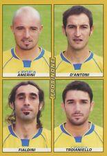 Nº 537 amerini fialdini Frosinone calcio sticker figurina panini calciatori 2008