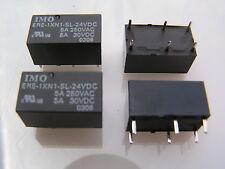 Imo ERE-1XN1-SL-24VDC bobine de relais 5A 250VAC DP/1NO/1NC rohs 4 pieces I78 MBC011d