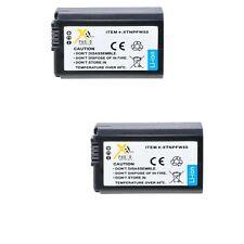 2X NP-FW50 Batteries for Sony Alpha NEX-3 NEX-5 NEX-6 NEX-7 SLT-A33 NEX3NL/B