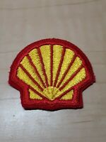 Shell Gas Station Iron On Uniform Patch - Unused - 1980s - Vintage - NOS