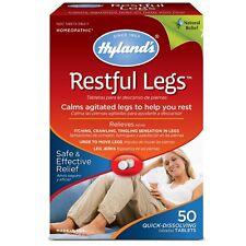 Hylands Restful Legs Tablets 50 ea (Pack of 2)