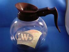 CW's Coffee Company Glass Carafe For Coffe Maker NEW