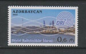 Azerbaijan - 2013, State Management Radio Frequencies stamp - MNH - SG 915
