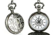 Black Butler Anime Manga Taschenuhr Uhr Pocket Watch Sebastian Michaelis Ciel
