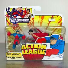 DC Universe Action League / Brave & Bold ATOM & PLASTIC MAN GLIDER boxed set