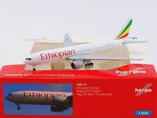Herpa 1:500 - 528115: Ethiopian Airlines Boeing 777-200LR - NEU + OVP