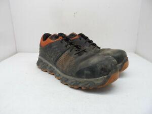 TIMBERLAND PRO Men's Ridgework Low A1WF4 Composite Toe Work Shoes Black 9.5W